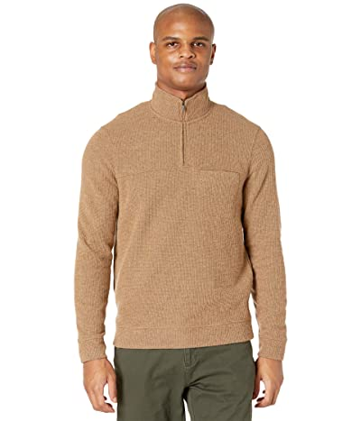 Toad&Co Breithorn 1/4 Zip Sweater (Brown Sugar) Men
