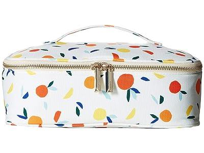 Kate Spade New York Citrus Twist Lunch Carrier (Orange) Bags