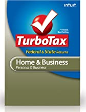 TurboTax Home & Business Federal + E-File + State 2012 for PC [Old Version]