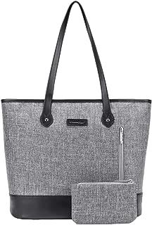 UtoteBag Women 15.6 Inch Laptop Tote Bag Notebook Shoulder Bag