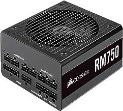 Corsair RM750, RM Series, 80 Plus Gold Certified, 750 W Fully Modular ATX Power Supply - Black
