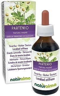 MUTTERKRAUT Tanacetum parthenium Kraut mit Blüten Alkoholfreier Urtinktur NATURALMA | Flüssig-Extrakt Tropfen 100 ml | Nahrungsergänzungsmittel | Veganer