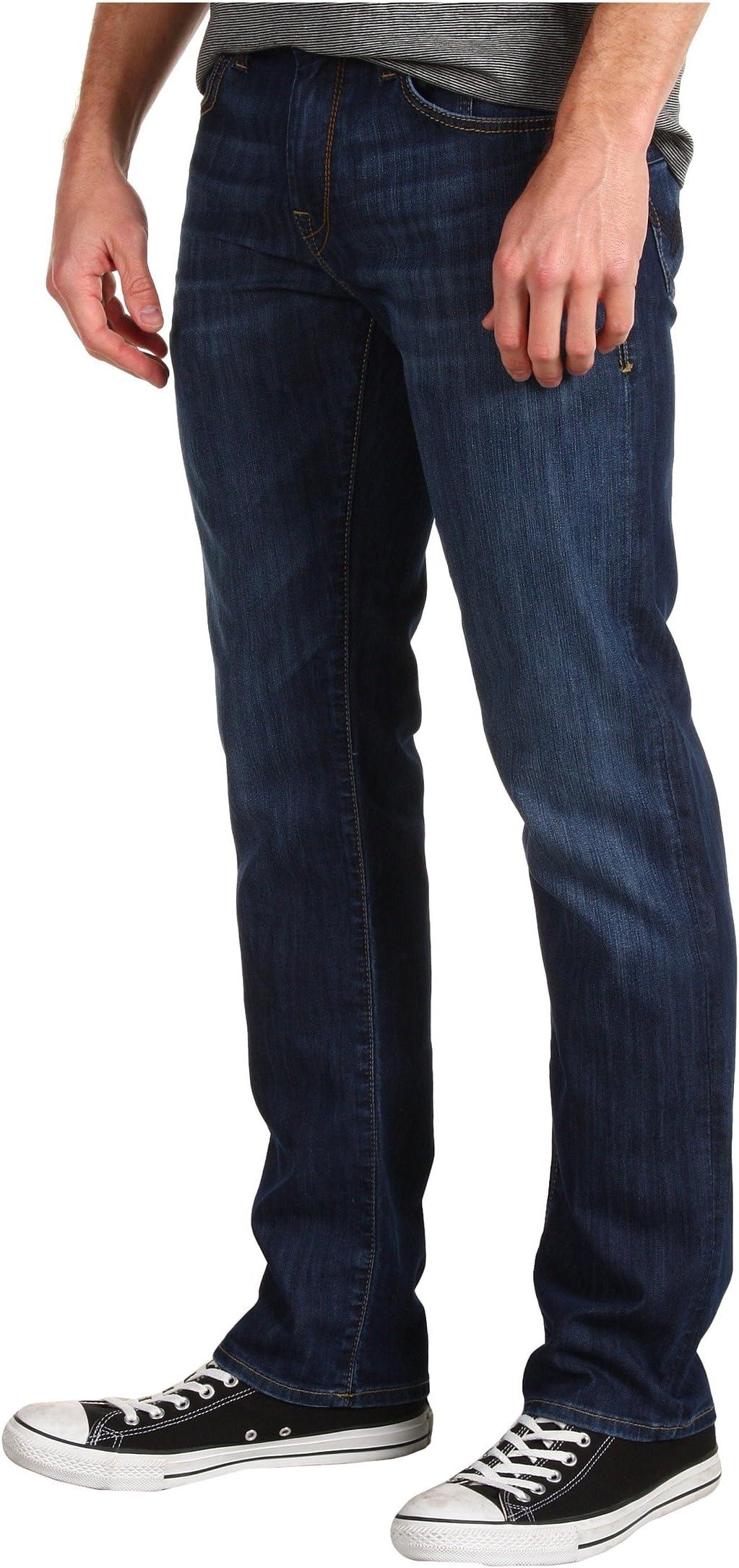 Mavi Jeans Zach Regular Rise Straight Leg in Dark Maui avN6a