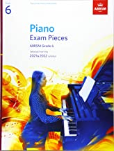Piano Exam Pieces 2021 & 2022, ABRSM Grade 6: Selected from the 2021 & 2022 syllabus