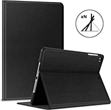 6th Generation iPad Case 2018 2017 / iPad Air 2 / iPad Air, HBorna Adjustable Stand Cover Protection with Auto Sleep/Wake Function, 9.7'' Case for Apple iPad 6th 5th Air, Black