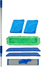 Real Clean 18 inch Commercial Microfiber Mop Kit