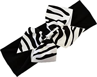 zebra print baby headbands