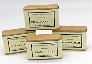 Shampoo Bar - Goats Milk and Neem Oil 4 x 100G by The Little Goat Soap Company
