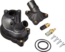 uxcell/® New Black Thermostat Housing Assembly YU3Z8A586AA for 97-01 Ford Explorer Mountaineer 4.0L V6