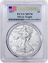 2017 Silver Eagle 2017 Silver Eagle PCGS MS-70 First Strike 1 oz Silver $1 MS-70 PCGS MS