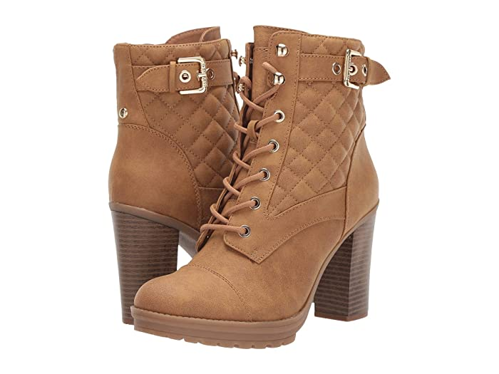 GBG Los Angeles  Gift (Camel) Womens Dress Lace-up Boots
