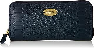 Hidesign leather Women's Wallet ANGARA W3 (Blue)