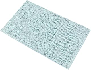 """MAYSHINE Chenille Bath Mat for Bathroom Rugs 32"""" x20"""", Extra Soft and Absorbent.."""