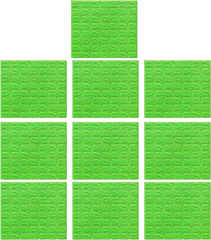 Financial sales sale 10pcs 3D Wall Arlington Mall Panels Wallpaper Faux Foam Textured Stone fo Tiles
