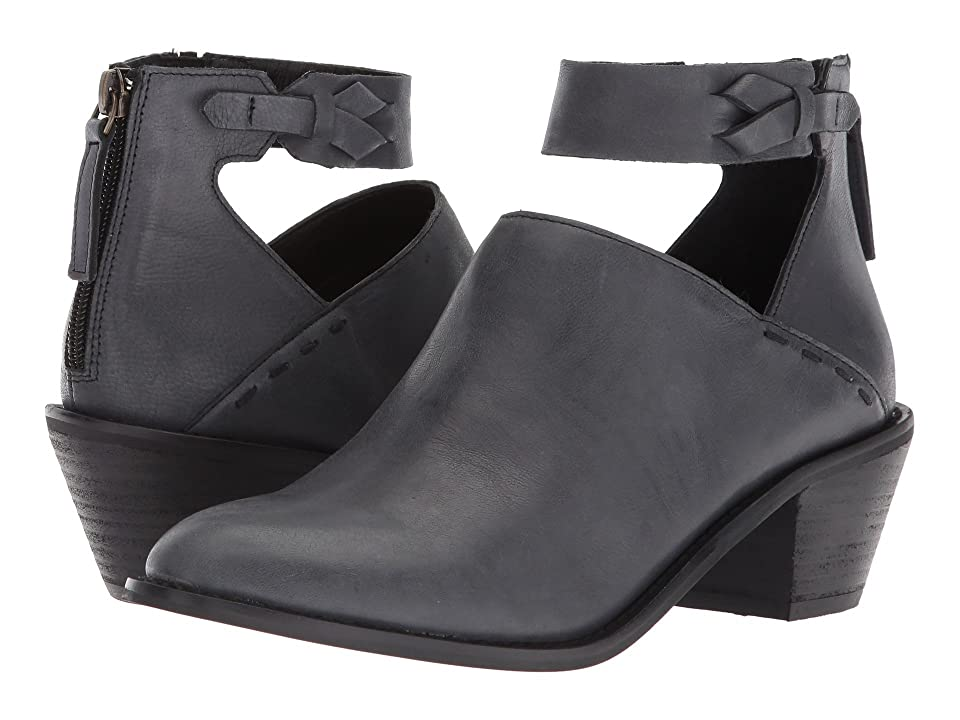 Kelsi Dagger Brooklyn Kadeeja Ankle Bootie (Blue Grey Leather) Women