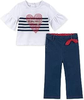 Baby Girls 2 Pieces Pants Set