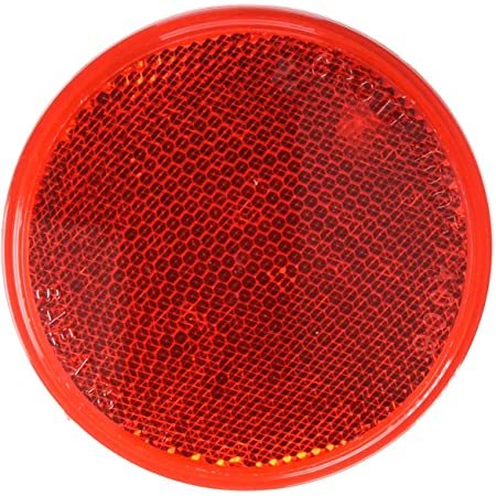 Grote 40053 Yellow Round Stick-On Reflector