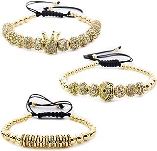 Bracelets For Men And Women - Crown Charm Bracelets For...