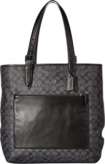 Mens Metropolitan Soft Tote in Signature