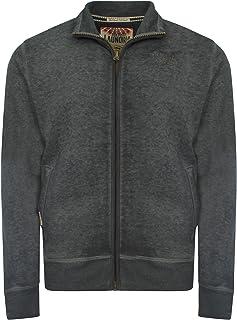 Tokyo Laundry Men's Blackjack Peak Zip Up Long Sleeve Funnel Neck Sweatshirt Size S-XXL
