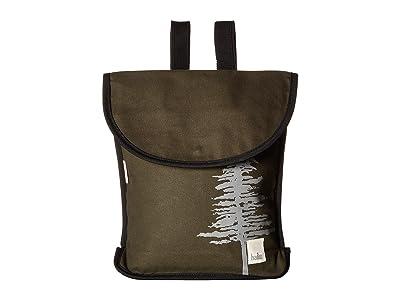 Haiku Origami Backpack (Pine) Backpack Bags