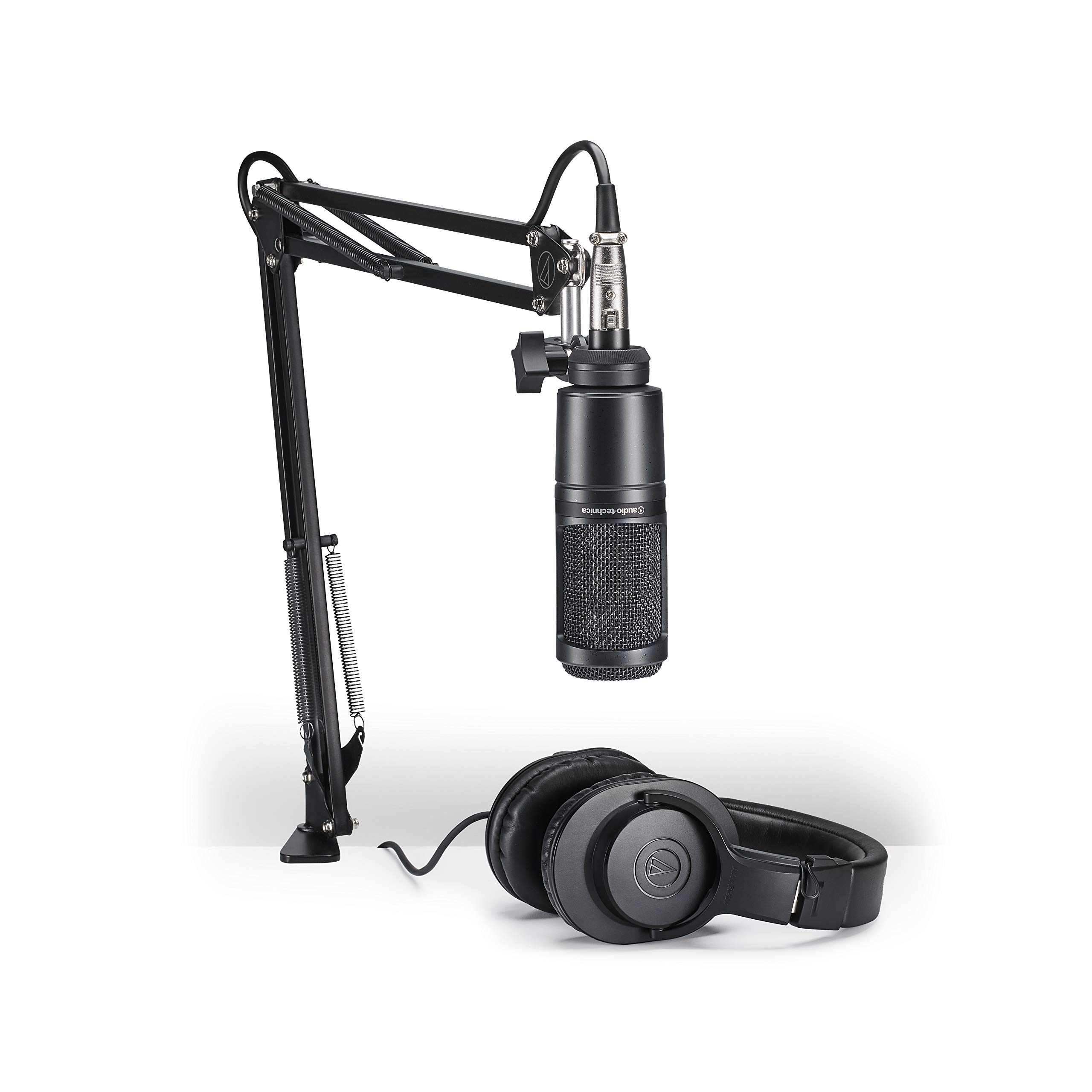 Audio Technica AT2020PK Microphone Streaming Podcasting