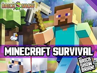 Clip: Minecraft Survival with Brick Show Brian!