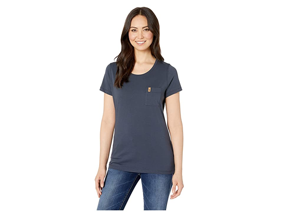 Fjallraven Ovik T-Shirt (Navy) Women