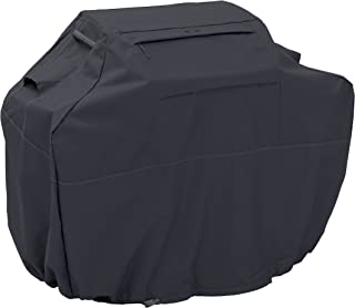 Classic Accessories Ravenna Black Grill Cover For Char-Broil 280 2-Burner Gas