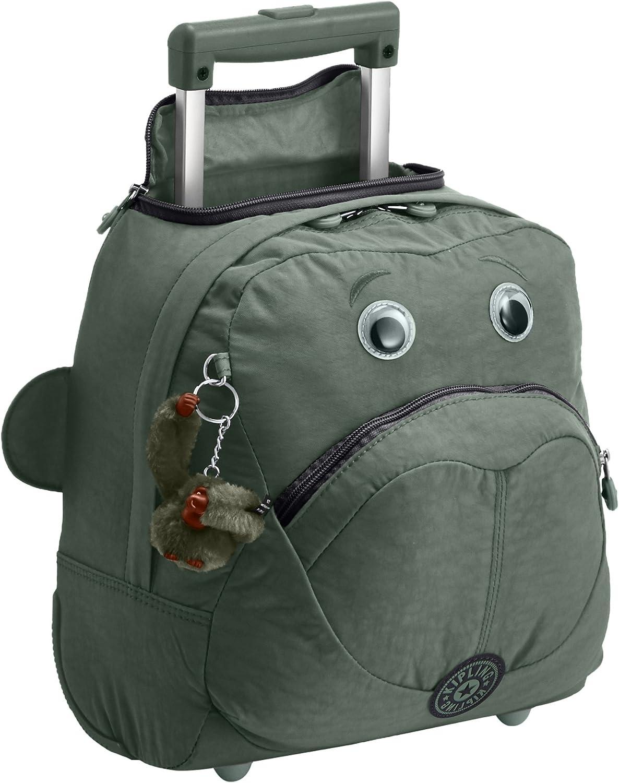 Kipling  WHEELY  Wheelded School Bag  Dark Green C  (Green)
