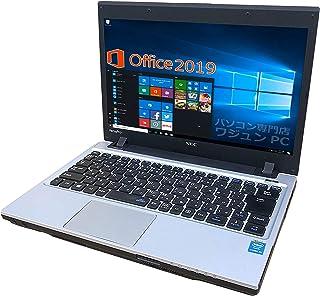 NEC ノートPC VK26(VC-H)/wajun(ワジュン)PCバッグ付/MS Office 2019/Win 10/13.3型/Core i5-4300M//HDMI/WIFI/Bluetooth/10GB/128GB SSD (整備済み品)