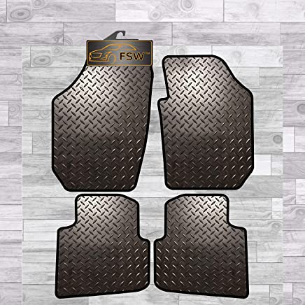 FSW Roomster 2006-2015 Fully Tailored 3MM Rubber Heavy Duty Car Floor Mats