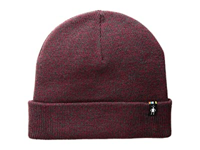 Smartwool Cozy Cabin Hat (Tibetan Red Heather) Beanies