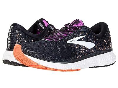 Brooks Glycerin 17 (Black/Fiery Coral/Purple) Women