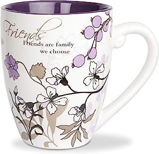 Pavilion Gift Company Friends Ceramic Mug, 20-Ounce, Mark My Words