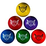 Franklin Sports Dodgeball Ball Set – Superskin-Coated Foam Balls for Playground Games – Small Dodgeballs for Gymnasium Games – Easy-Grip Foam Balls – Wont ...