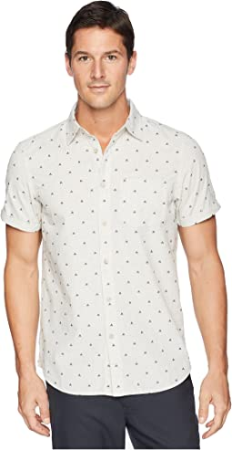Short Sleeve Bay Trail Jacquard Shirt