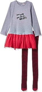 أطقم ملابس أطفال بناتي من بيبيبول فستان+ سروال ضيق للبنات وقمصان للأولاد
