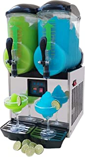 Brand : BRAVO ITALIA 2 bowls slushie machine 3.2 gallons each bowl , 100 CUPS ,COMMERCIAL GRADE MACHINE ,Margarita Machine , Slushie Maker , Margarita Maker , Slushy Machine