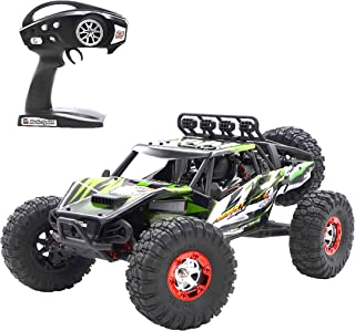 Aiitoy RC Car, High Speed 4WD 60km/h Brushless 1:12 Scale 2.4Ghz Remote Control Truck, Electric Off-Road Vehicle Buggy Rock Crawler (FY07), Green