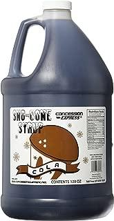 Concession Express Snow Cone Syrup 1 Gallon (Cola)