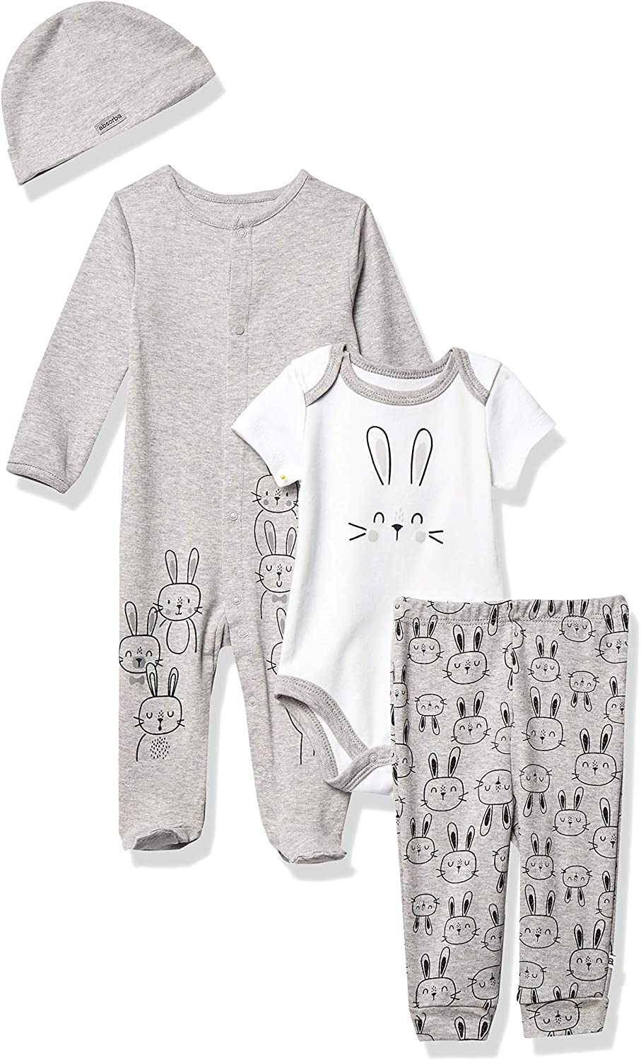 absorba Baby Boys' Coverall and Pants Set