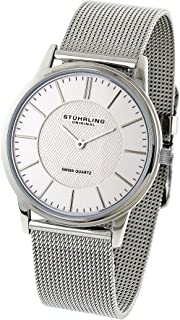 Stuhrling Classic Mens Watch Stainless Steel, [238.32112]
