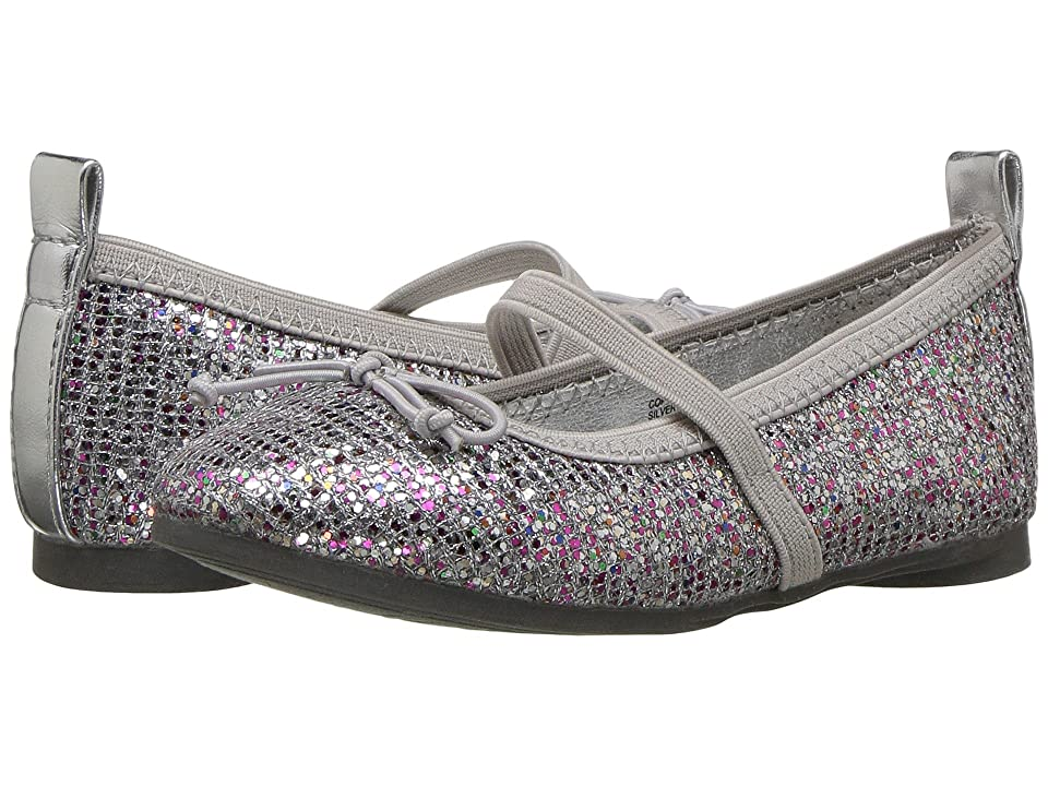Kenneth Cole Reaction Kids Copy Tap 2 (Toddler/Little Kid) (Silver Multi) Girls Shoes
