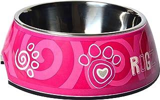 Rogz Bubble Bowl for Dog, Pink, Medium