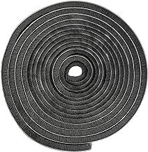 Zelfklevende borstelafdichting, 5 m, winddicht, stofdicht, afdichtingsborstel, grijs, zelfklevend, 9 x 9 mm, voor schuifde...