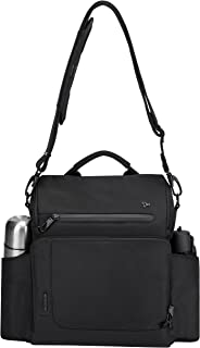 Travelon Anti-Theft Urban N/s Tablet Messenger Bag, Black