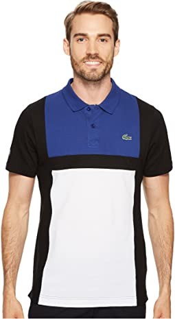 Lacoste - Short Sleeve Super Light Color Block Polo