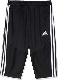 adidas Australia Kids Tiro 19 3/4 Pants, Black/White