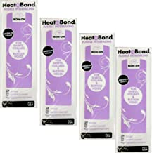 Therm O Web Thermoweb Heat N Bond Medium Weight Iron On Fusible Interfacing White 20 inch x 36 inch 3337 (4-Pack)